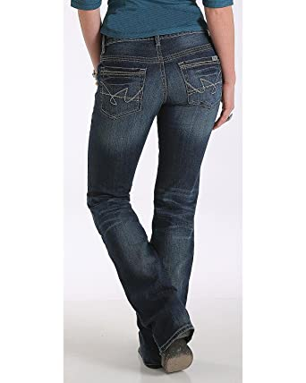 dd0b88be956 Cruel Girl Women s Abby Mid Rise Medium Wash Jeans Boot Cut Indigo 7 ...