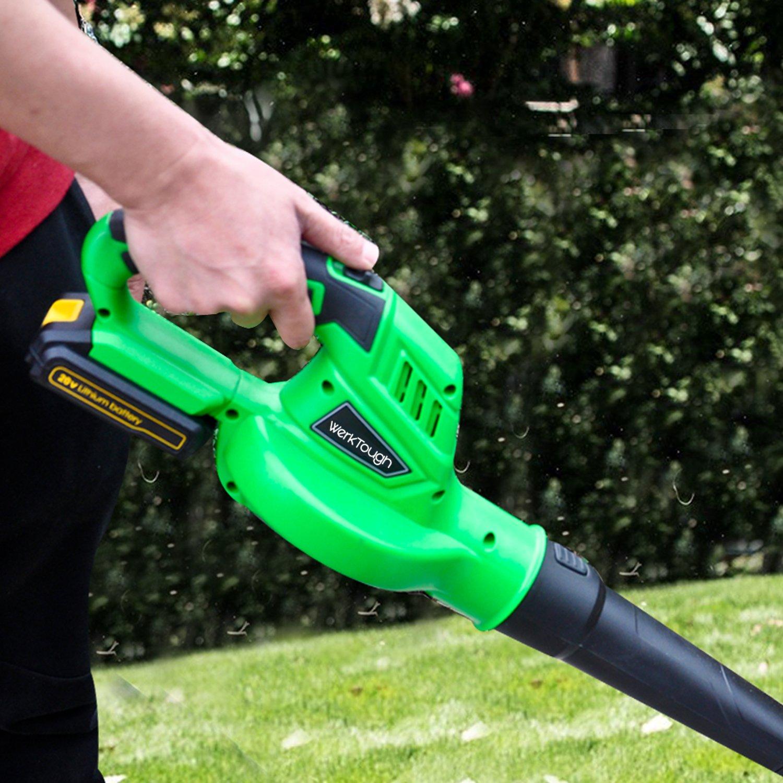 Werktough B001 Outdoor Tool 20V Li-ion Cordless Leaf Sweeper Blower