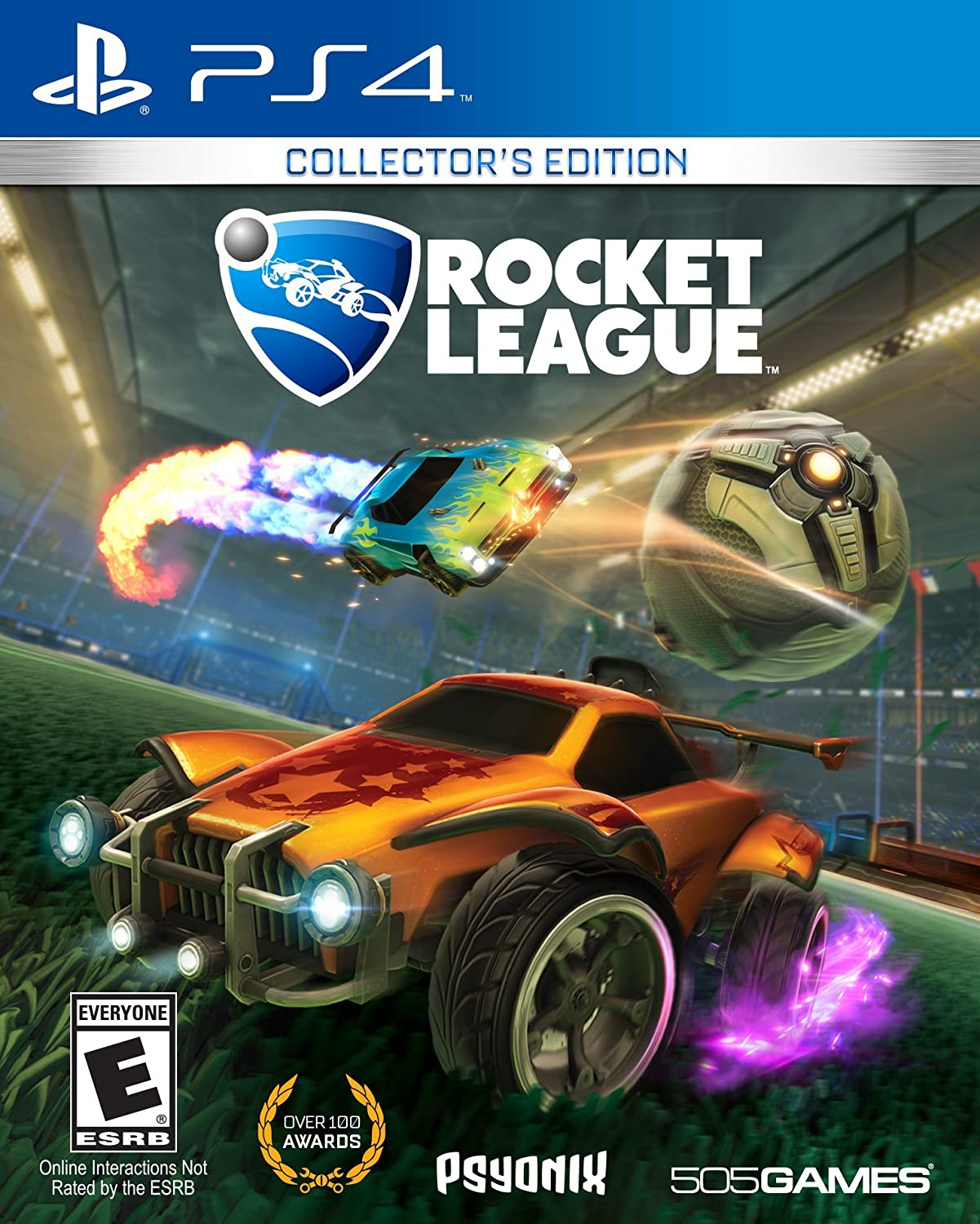 rocket league ps4 game