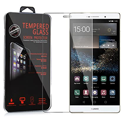 Cadorabo Pelíula Protectora para Huawei P8 MAX en Transparencia ...
