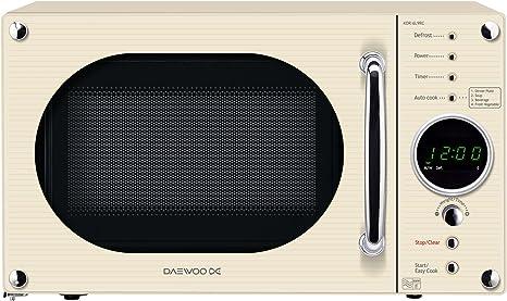 Daewoo kor6 N9rc Comptoir 20L 800 W crema microondas – Microondas ...