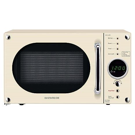 Daewoo kor6 N9rc Comptoir 20L 800 W crema microondas - Microondas ...