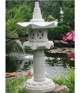 Pagode 5 Stöckig Japanische Steinlaterne Amazonde Garten