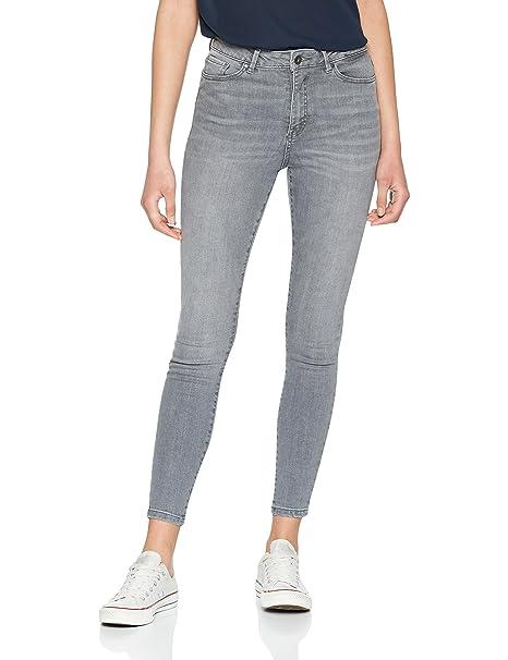Vero Moda Vmsophia Hw Jeans Md Bl Noos, Vaqueros Skinny para Mujer, Azul (Medium Blue Denim), 36/L30 (Talla del fabricante: Small)