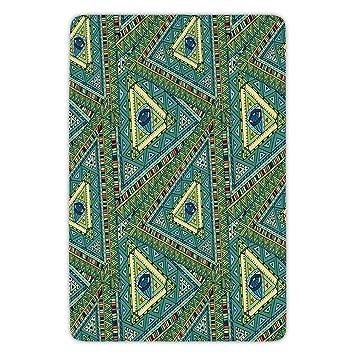amazon com bathroom bath rug kitchen floor mat carpet doodle rh amazon com
