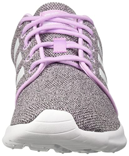 adidas Women s Cloudfoam QT Racer Running Shoe, Clear Lilac White Black, 6.5 M US
