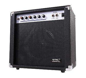 Soundking AK20-G - Amplificador bajo eléctrico, 2 canales, 60 W