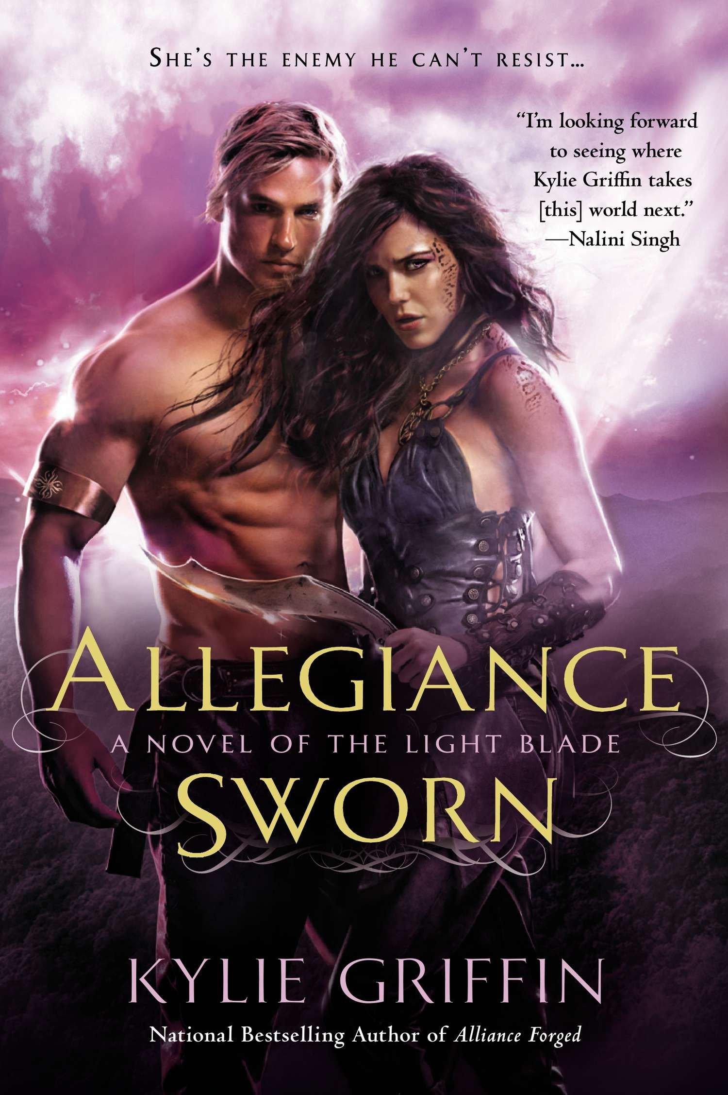 Download Allegiance Sworn (A Novel of the Light Blade) ebook