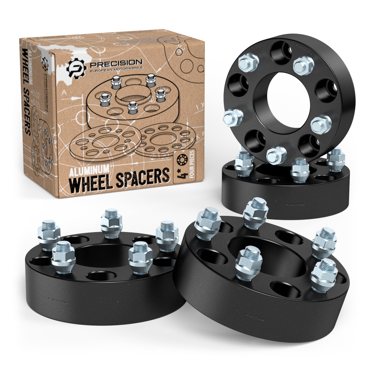 GMC Jimmy DCVAMOUS 5 Lug 5x4.75 Hubcentric Wheel Spacers 2 with ...