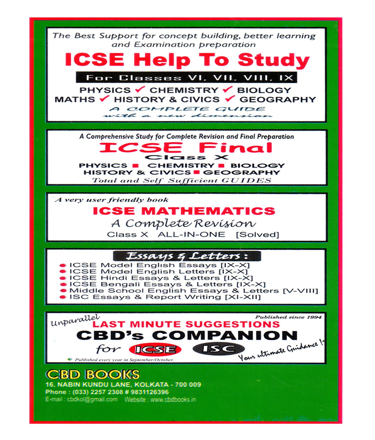 Amazonin Buy Icse Model English Letters Cbd Book Online At  Amazonin Buy Icse Model English Letters Cbd Book Online At Low  Prices In India  Icse Model English Letters Cbd Reviews  Ratings