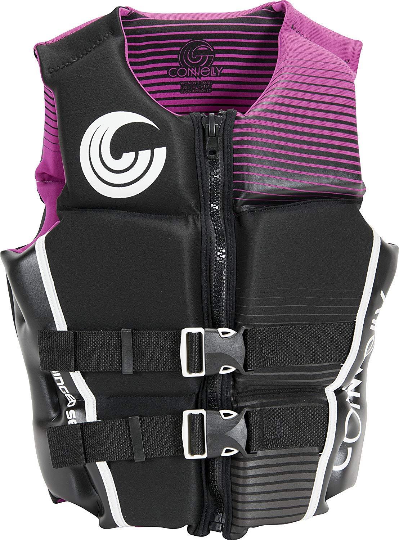 Connelly Wmn 'sクラシックCGA Neo Vestパープル( 2017 ) -xsmall-purple XLarge ブラック/パープル B07B8R817J