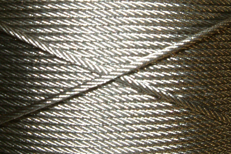 Rankhilfe RH01/_09 Wandabstand 4cm Gitter Spalier DewTec /Ø 2mm // 23m Edelstahlseil Kletterhilfe Rankgitter 14 x Abstandshalter Edelstahl