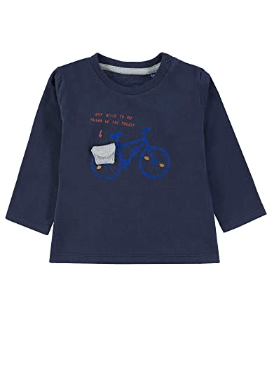 TOM TAILOR Kids T-Shirt Placed Print Camiseta para Beb/és