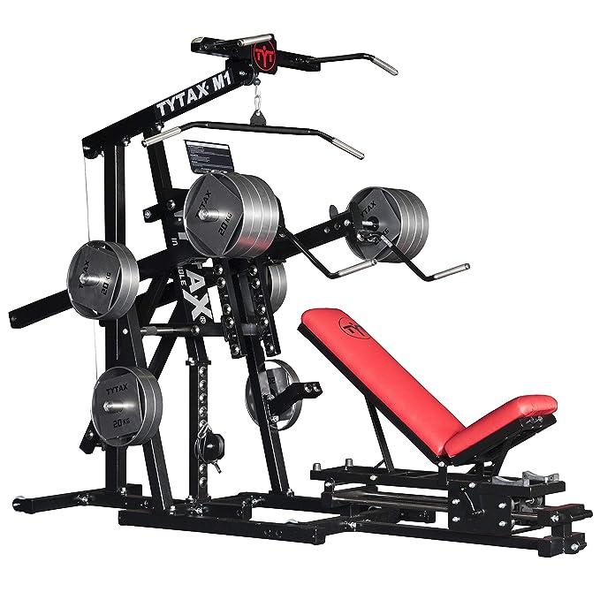 TYTAX® M1 Máquina para el Gimnasio de Casa | Culturismo Entrenamiento Ejercicio Aptitud: Amazon.es: Deportes y aire libre