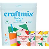 Craftmix Cocktail Mix Variety Pack (Mai Tai, Margarita, Mule, Paloma Flavors) Skinny Natural Low Sugar Low Calorie Keto…