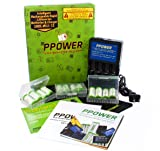 Ppower Pbe 12 packs of 700mAh 3.7v Cr123a