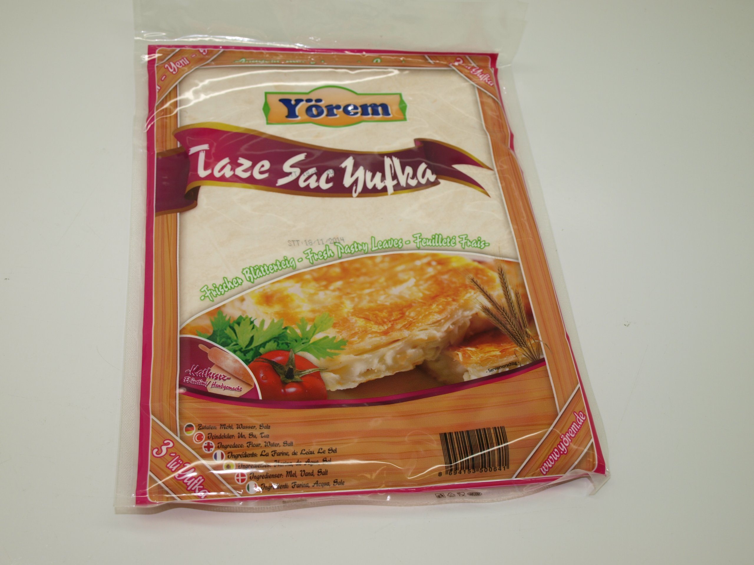 Turkish Pastry Leaves 500g by Yorem (Image #1)
