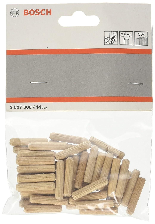 Bosch 2 607 000 444 - Tacos de madera - 6 mm, 30 mm (pack de 50) 2607000444