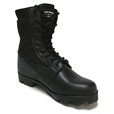 Military Uniform Supply Jungle Boots - Black: Shoes