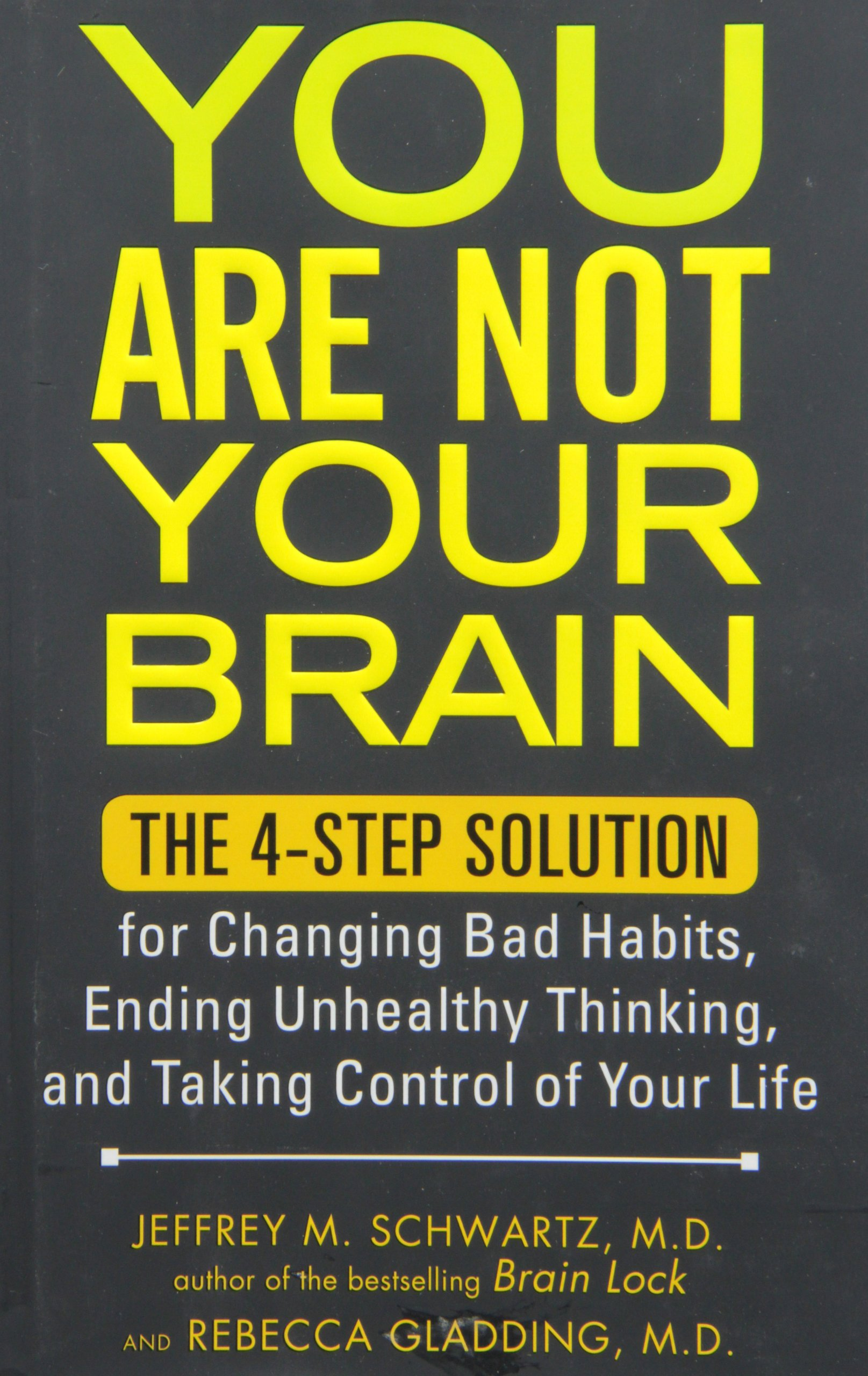 You Are Not Your Brain: The 4-Step Solution for Changing Bad Habits, Ending Unhealthy Thinking, and Taking Control of Your Life pdf