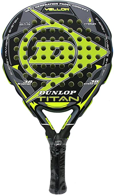 Dunlop - Pala de pádel Titan, Amarillo
