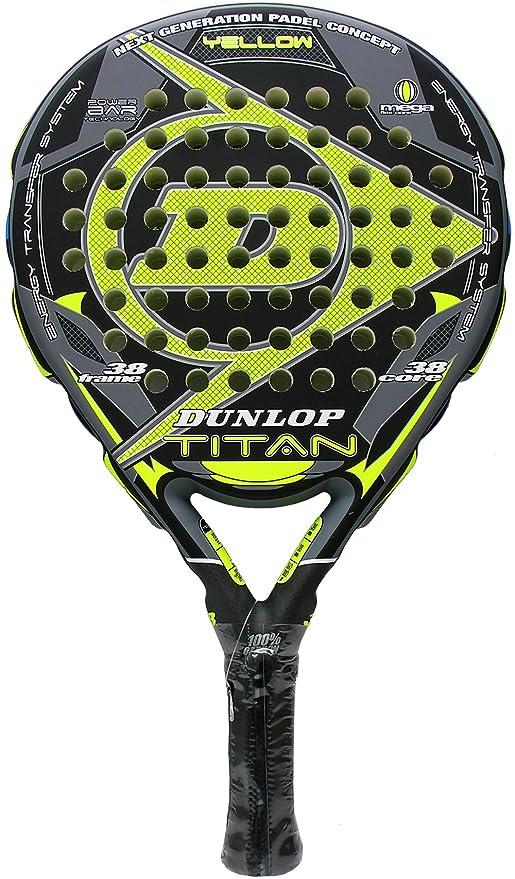 Dunlop - Pala de pádel Titan, Amarillo: Amazon.es: Deportes y aire ...