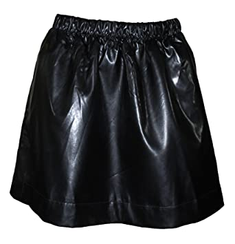 search for latest 2019 professional sale Qmack Women`s Pull-On Faux Leather A-Line Skirt at Amazon ...
