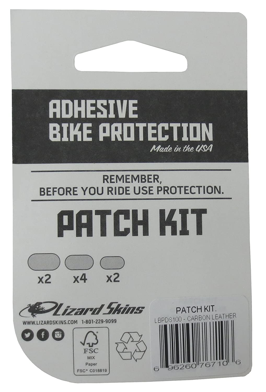 Lizard Skins Unisex Adult Frame Protective Patch Kit Black One Size