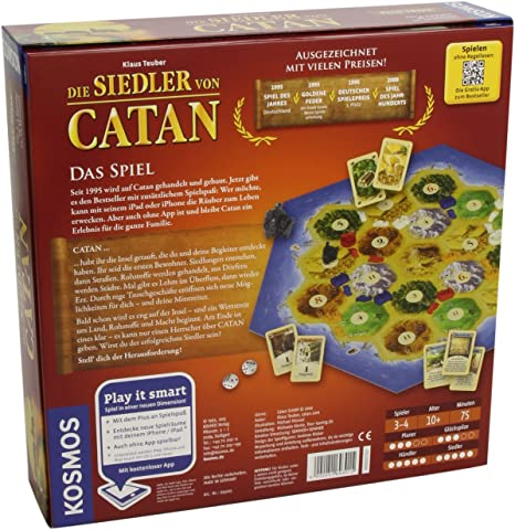 Colonos de Catan (Play it Smart) [versión en alemán] (Kosmos): Amazon.es: Juguetes y juegos