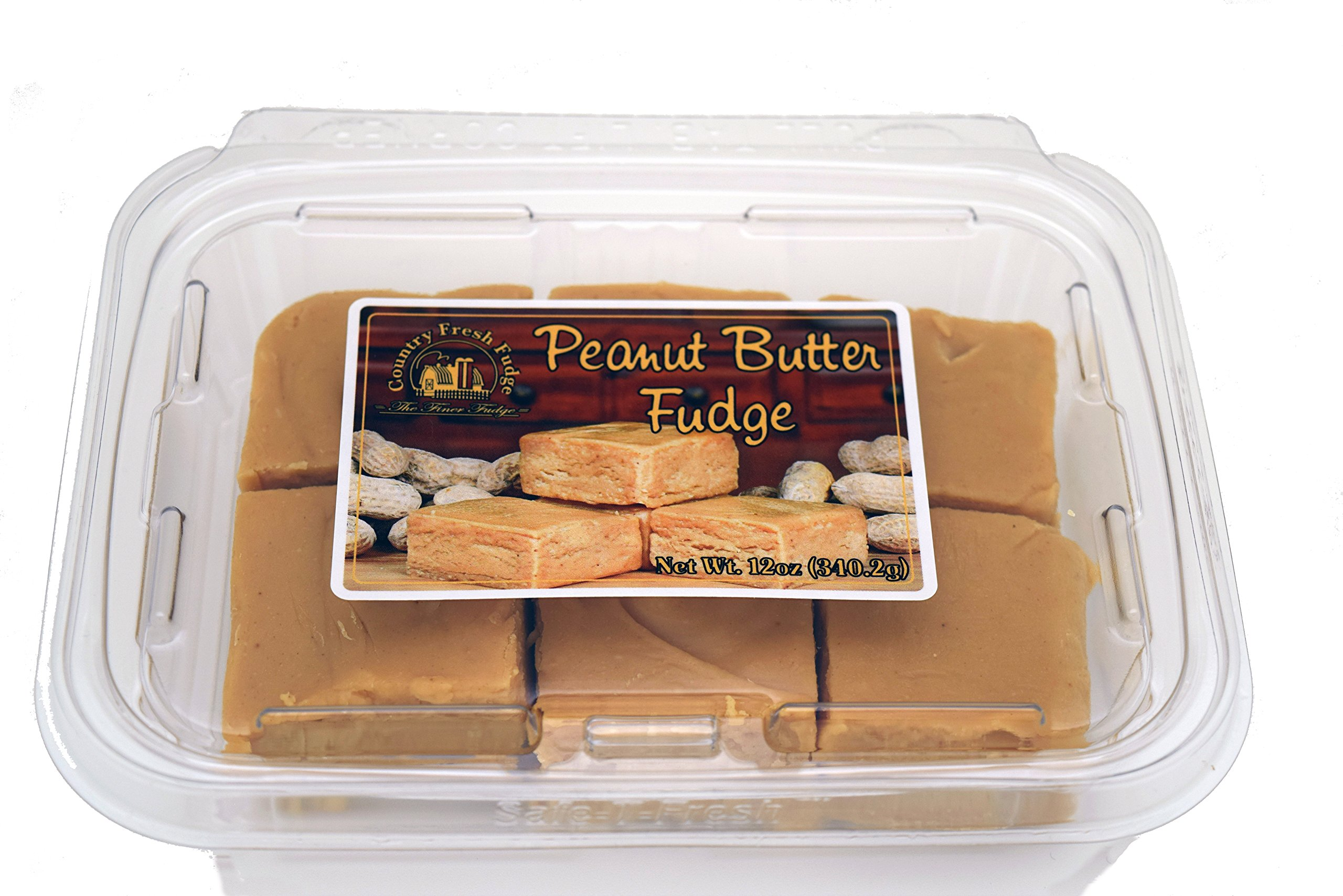 Country Fresh Fudge Peanut Butter, 6 Pound (Pack of 8)