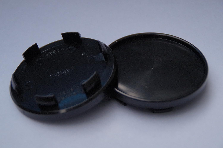 Pannenkl/öpper 45049 Schwarz Nabenkappen Tr/äger 65 mm RH Artec 4 St.