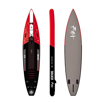 Tiki 12 ft 6 empresa inflable SUP Stand Up Paddle Board + Pack de accesorios