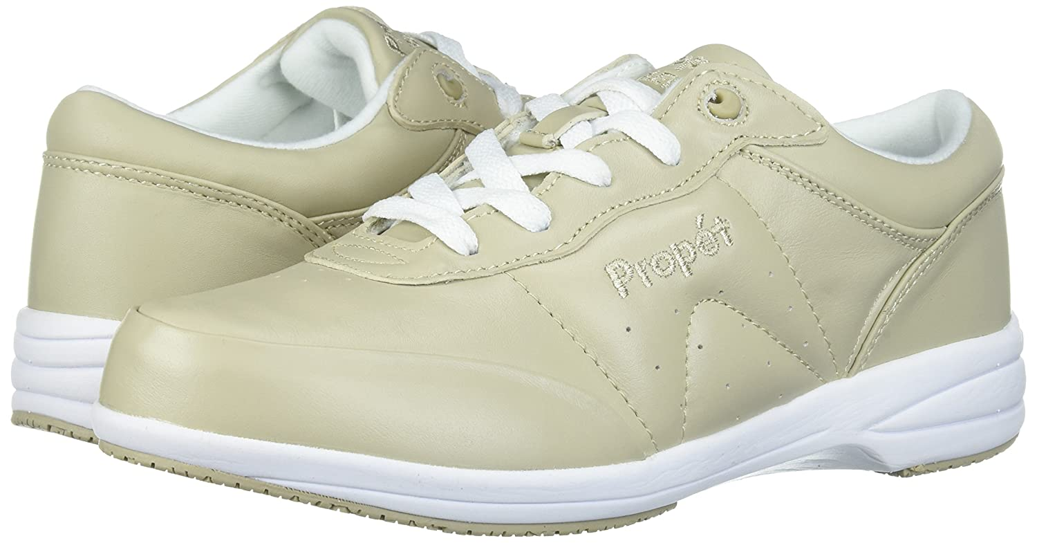 Propét Frauen Washable Walker Wildleder Fashion Sneaker Sr Sr Sneaker Bone/Weiß 3b2d3a