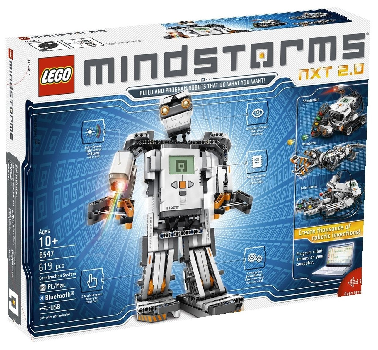 LEGO 8547  MINDSTORMS NXT 2.0  Roboter