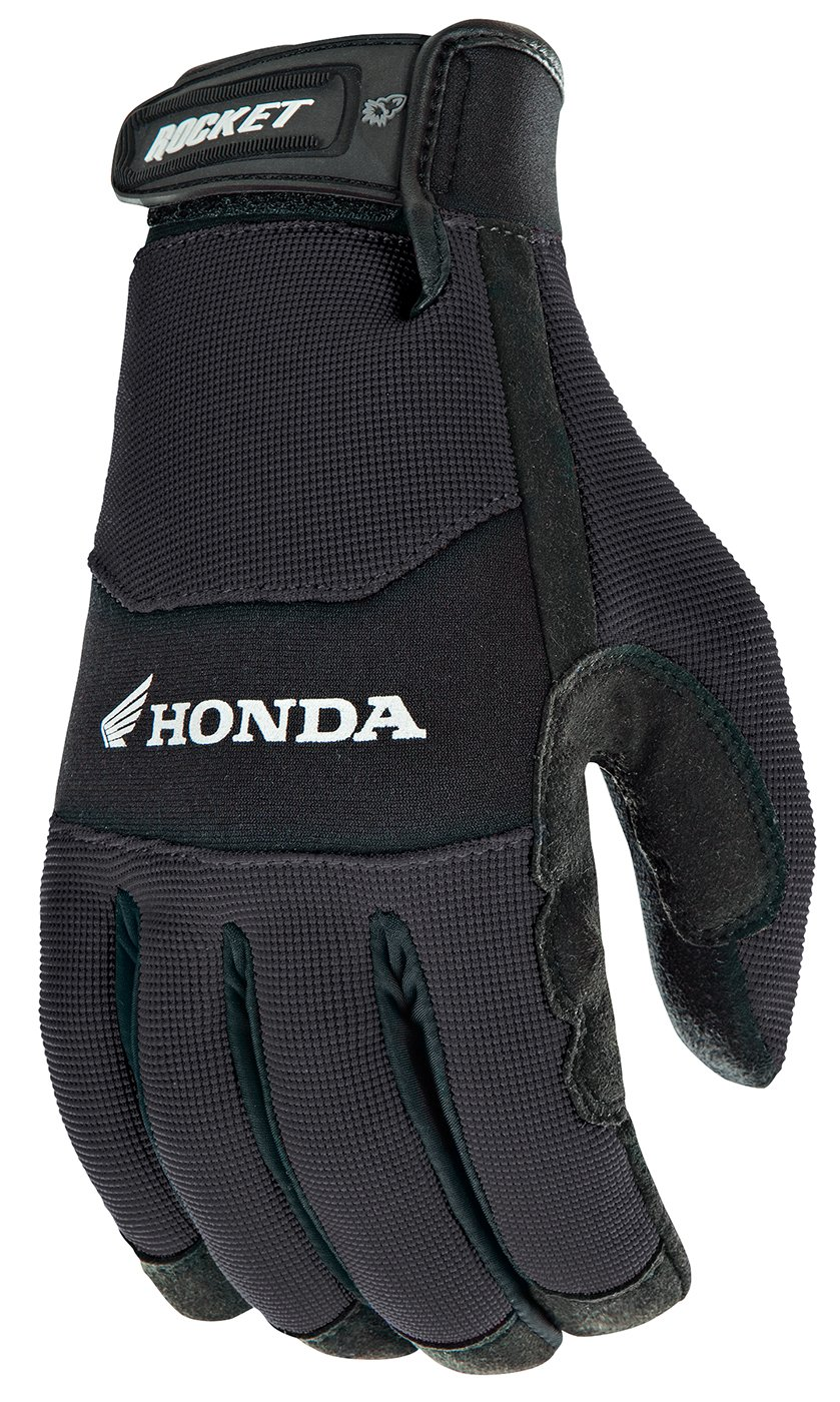 Black//Black, X-Large Joe Rocket Crew Touch Mens Motorcycle Riding Gloves