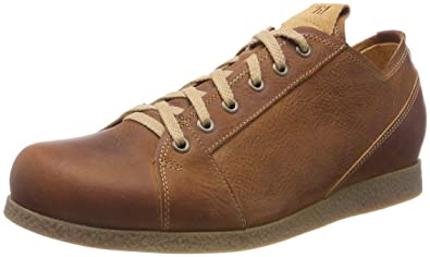 Think! Grodso_282632, Brogues Homme, Marron (Lion/Kombi 55), 44.5 EU
