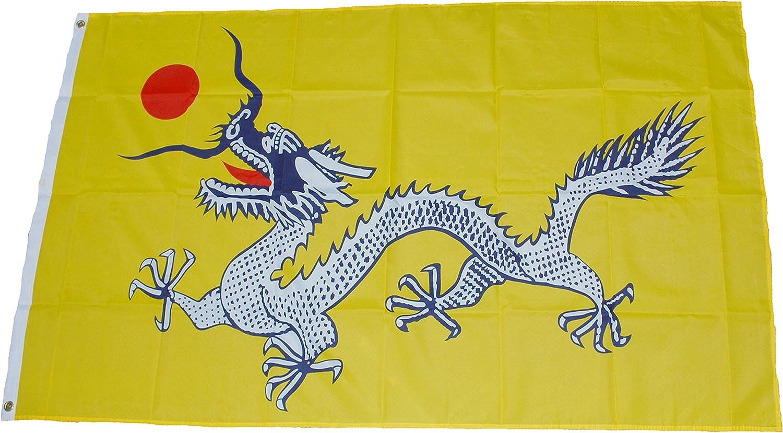 China Imperial Dragon 152, 4 cm x3 de la bandera de: Amazon.es ...
