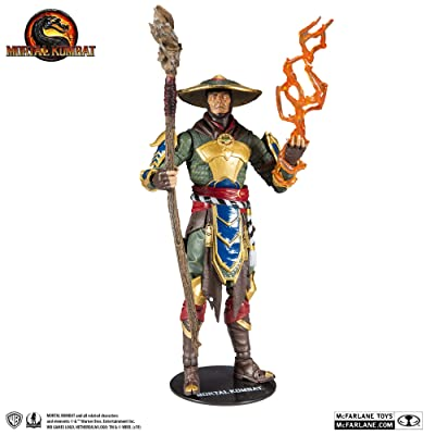 McFarlane Toys Mortal Kombat Raiden Action Figure: Toys & Games