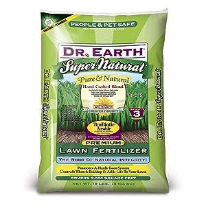 Dr. Earth Super Natural Lawn Fertilizer