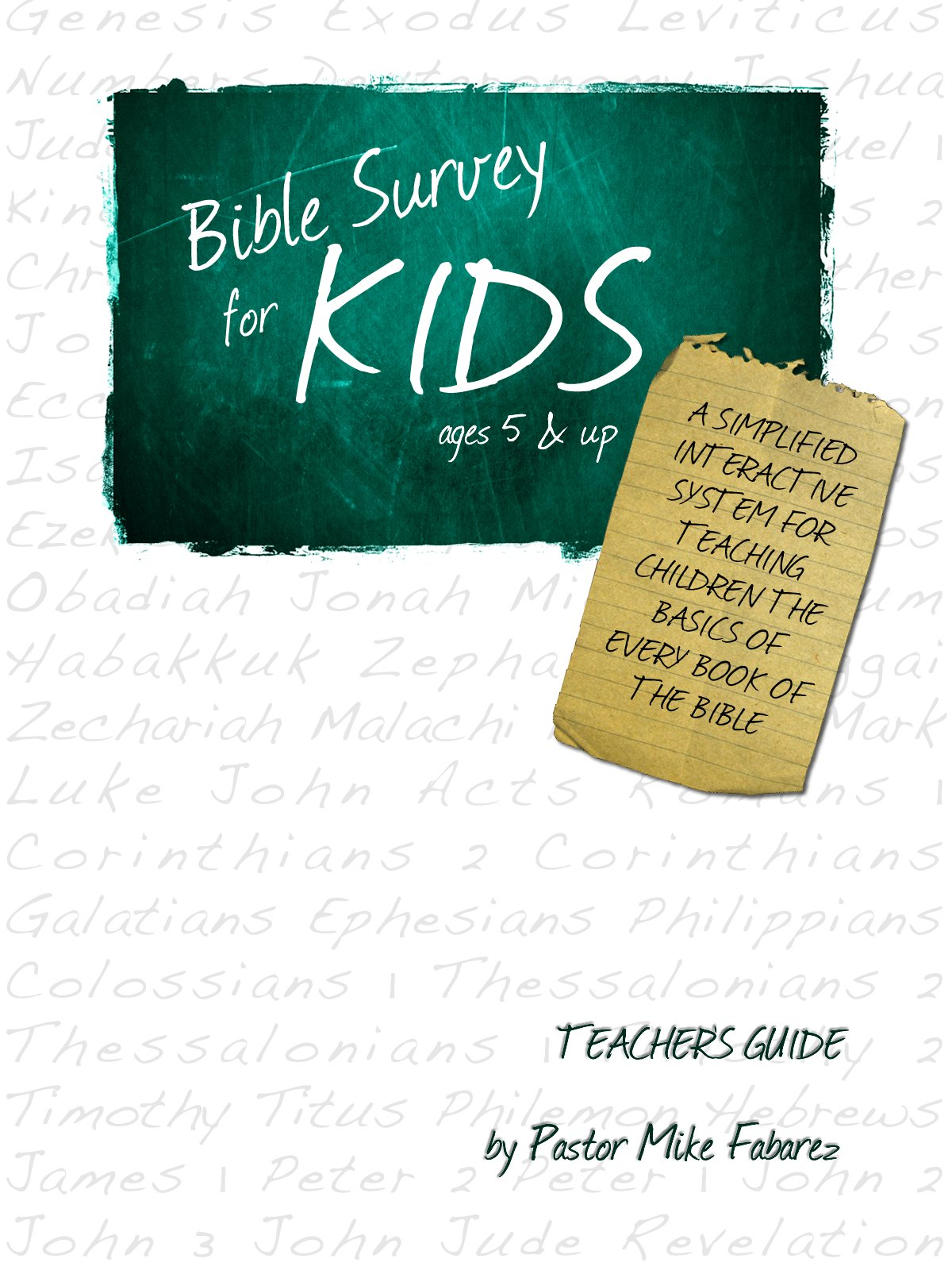 Download Bible Survey for Kids pdf