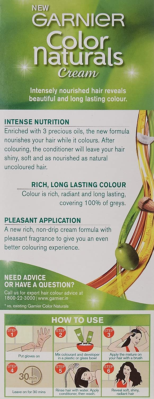 Garnier Color Naturals Shade 5 Light Brown, 70ml + 40g: Amazon.in ...