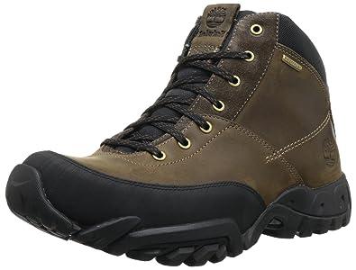 Timberland Men's Rolston Mid Wp Waterproof Boot,Dark Brown,9 M Us, 7