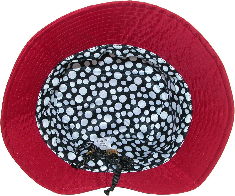 Dorfman Pacific Bonnet de Pluie r/églable en Nylon Hydrofuge doubl/é pour Femme