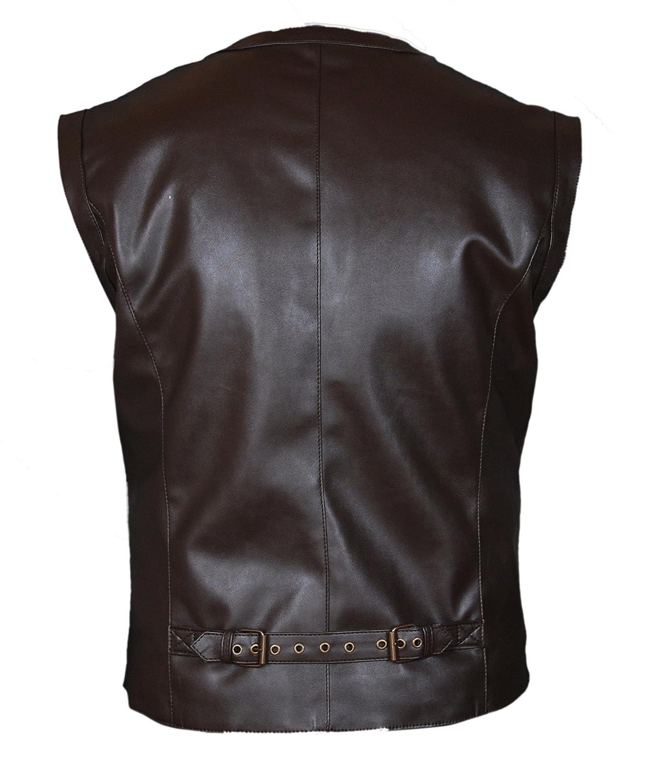 Flesh /& Hide F/&H Kids Jurassic World Chris Pratt Owen Grady Genuine Leather Vest