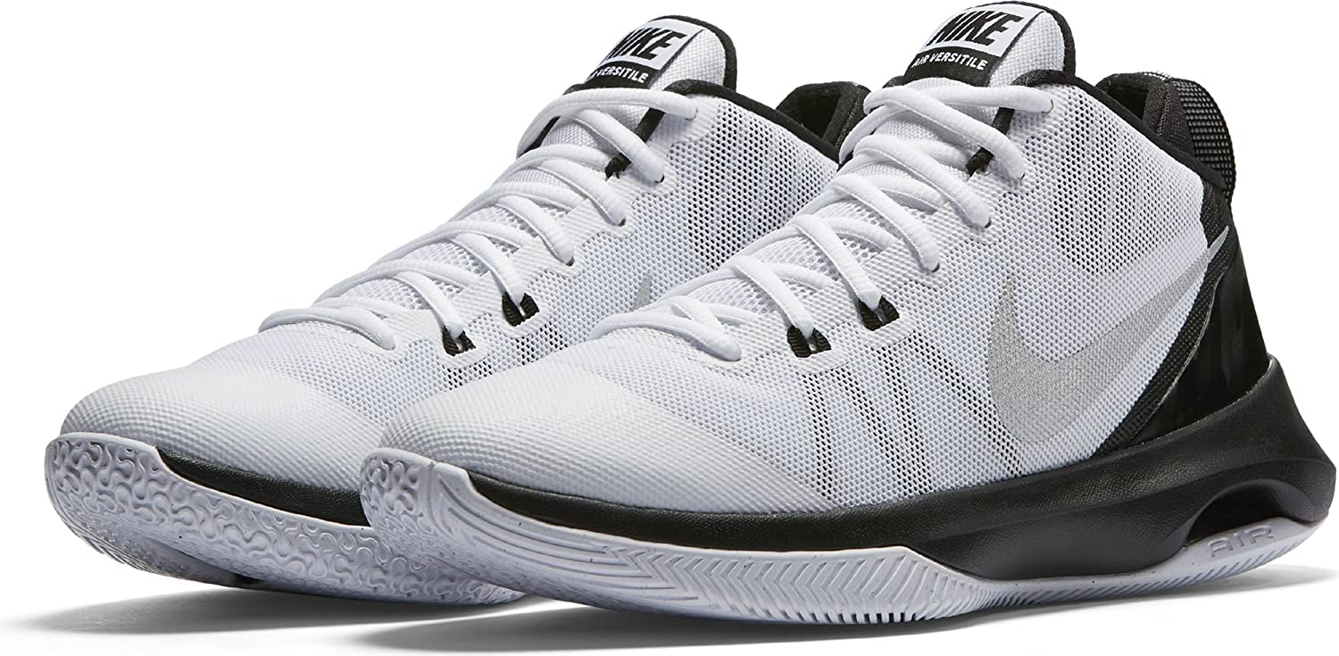 91f1189925 Nike Men s Air Versitile Black Silv-Gry Basketball Shoes-6 UK India (40  EU)(7 US) (852431-001)  Buy Online at Low Prices in India - Amazon.in