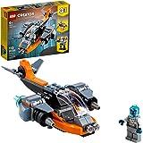 31111 LEGO® Creator 3em1 Ciberdrone; Kit de Construção (113 peças)