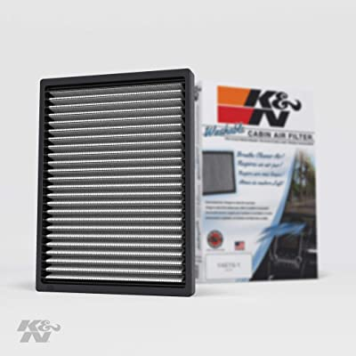 K&N Premium Cabin Air Filter: High Performance, Washable, Lasts for the Life of your Vehicle: Designed For Select 2007-2016 Chevy/GMC/Buick/Saturn (Traverse, Acadia, Enclave, Outlook), VF1012: Automotive