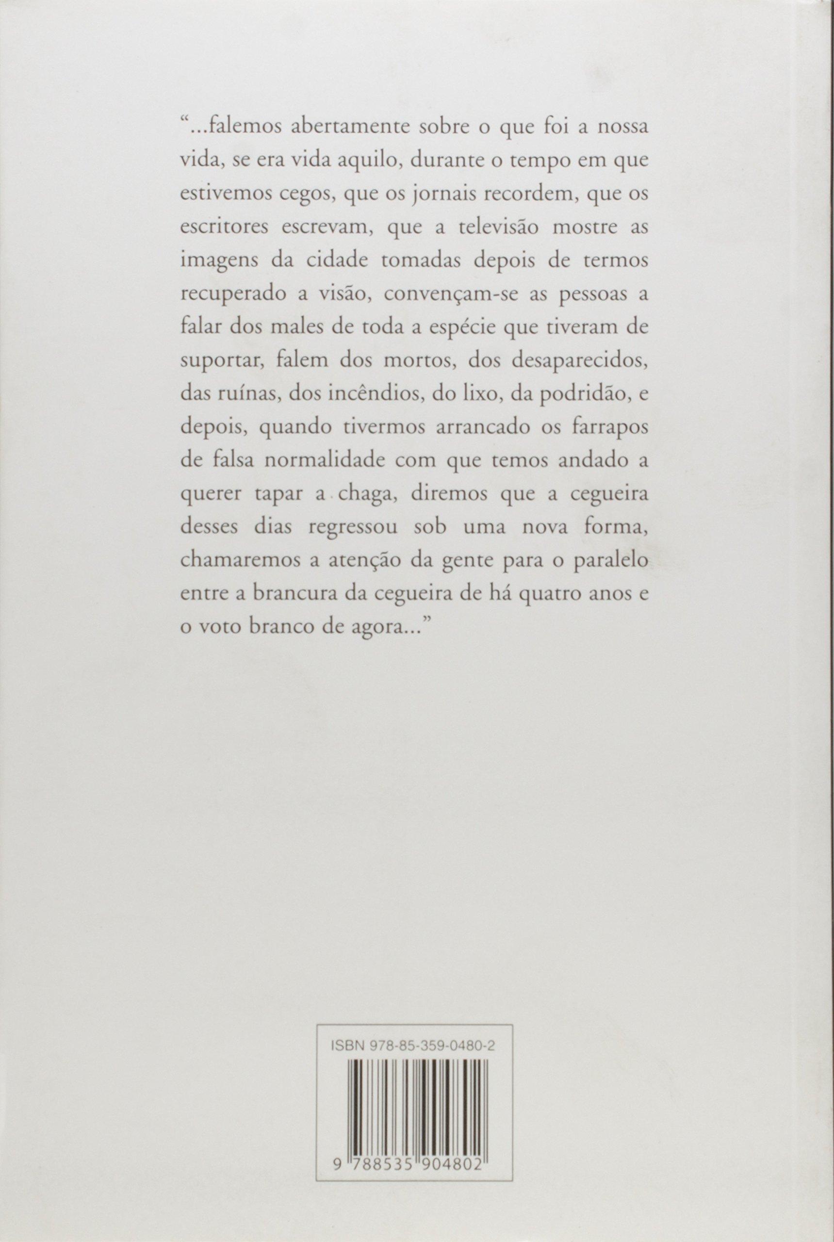 Ensaio Sobre A Lucidez Jose Saramago 9788535904802 Amazoncom Books