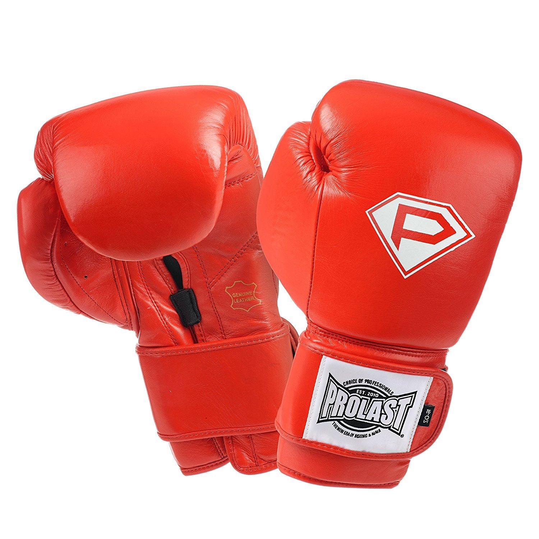 prolastボクシングトレーニンググローブ B076PXKR4S レッド 16oz