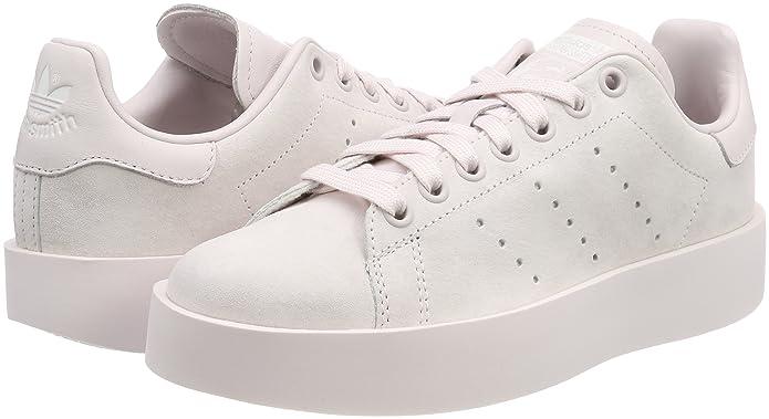 Amazon.com | adidas Womens Stan Smith Bold W Fitness Shoes, Pink (Orchid Tint/Orchid Tint/Orchid Tint 0), 8 UK | Athletic